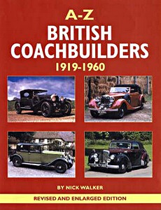 Boek : A-Z of British Coachbuilders 1919-1960
