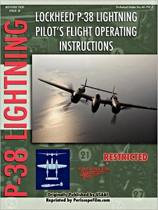 Boek: Lockheed P-38 Lightning - Pilot's Flight Operation Instructions