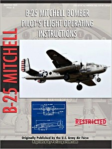 Boek: North American B-25 Mitchell Bomber - Pilot's Flight Operation Instructions