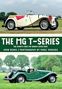 Boek: The MG T-Series : The Sports Cars the World Loved First
