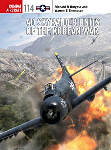 Boek: AD Skyraider Units of the Korean War (Osprey)