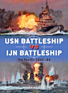 Livre : USN Battleship vs IJN Battleship : The Pacific 1942-44 (Osprey)