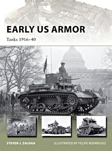 Boek: Early U.S. Armor : Tanks 1916-40 (Osprey)