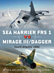 Boek: Sea Harrier FRS 1 vs Mirage III / Dagger : South Atlantic 1982 (Osprey)
