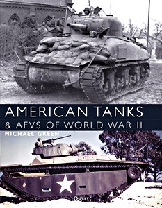 Boek: American Tanks & AFVs of World War II (paperback)