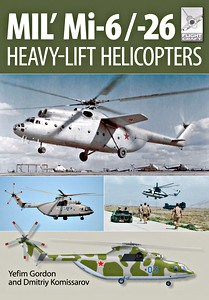Boek: Mil Mi-6 and Mi-26 Heavy-Lift Helicopters (Flight Craft)