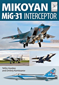 Boek: Mikoyan MiG-31 Interceptor (Flight Craft)