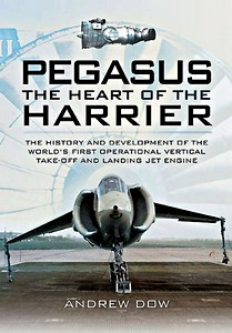 Boek : Pegasus - The Heart of the Harrier (Paperback)