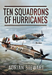 Boek: Ten Squadrons of Hurricanes