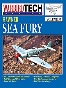 Boek: Hawker Sea Fury (WarbirdTech)