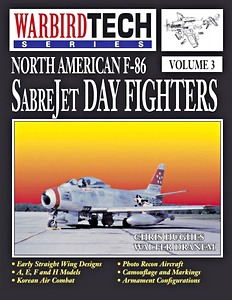 Boek: North American F-86 Sabrejet Day Fighters (WarbirdTech)
