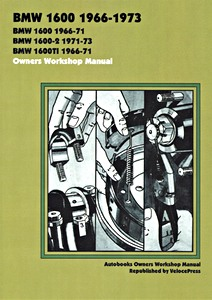 Boek: BMW 1600 (1966-1973) - Owners Workshop Manual
