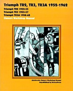Livre : Triumph TR2, TR3, TR3A (1952-1962) - Owners Workshop Manual