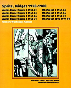 Boek: Austin-Healey Sprite / MG Midget (1958-1980) - Owners Workshop Manual