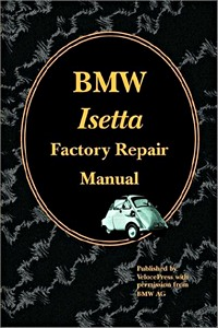Boek: BMW Isetta Factory Repair Manual