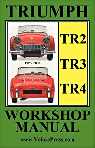 Boek: Triumph TR2, TR3 & TR4 (1953-1965) - Clymer Owner's Workshop Manual