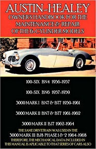 Boek: Austin-Healey 100-Six and 3000 - 6-Cylinder Models (1956-1968) - Clymer Owner's Workshop Manual