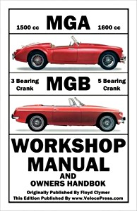 Boek: MGA & MGB - Clymer Owner's Workshop Manual