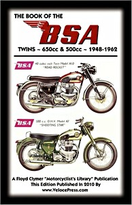 Livre : The Book of the BSA Twins - 500cc & 650 cc (1948-1962) - Clymer Manual Reprint