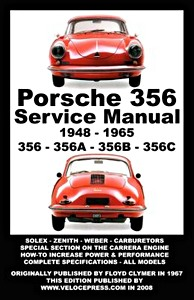 Boek: Porsche 356 - 356, 356A, 356B, 356C (1948-1965) - Clymer Owner's Workshop Manual
