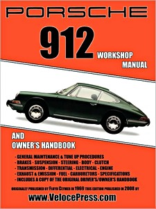 Boek: Porsche 912 (1965-1968) - Clymer Owner's Workshop Manual