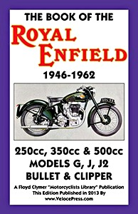 Livre : The Book of the Royal Enfield (1946-1962) - Clymer Manual Reprint