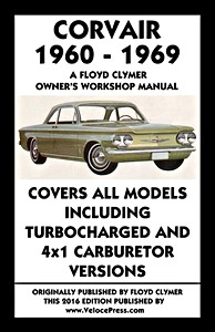 Boek: Corvair - All models (1960-1969) - Clymer Owner's Workshop Manual