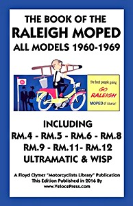 Livre : The Book of the Raleigh Moped - All Models (1960-1969) - Clymer Manual Reprint