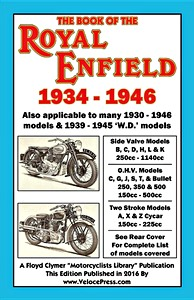 Livre : The Book of the Royal Enfield (1934-1946) - Clymer Manual Reprint