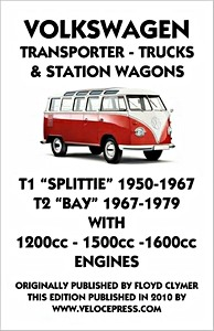 Boek: Volkswagen Transporter T1 (1950-1967) and T2 (1967-1979) - 1200, 1500, 1600 cc - Clymer Owner's Workshop Manual