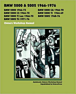 Boek: BMW 2000 & 2002 (1966-1976) - Owners Workshop Manual