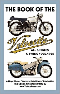 Livre : The Book of the Velocette - All Singles & Twins (1925-1970) - Clymer Manual Reprint