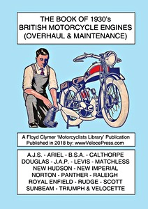Livre : The Book of 1930's British Motorcycle Engines (Overhaul & Maintenance)