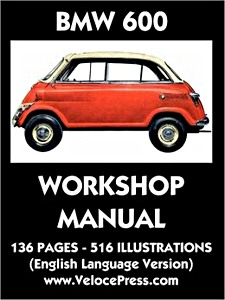 Boek: BMW 600 Factory Workshop Manual