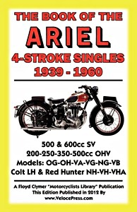 Livre : The Book of the Ariel 4-Stroke Singles (1939-1960) - Clymer Manual Reprint
