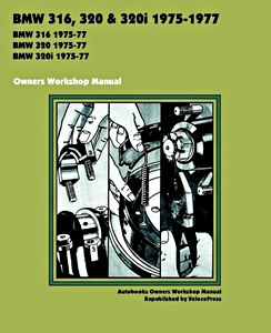 Boek: BMW 316, 320 & 320i (1975-1977) - Owners Workshop Manual