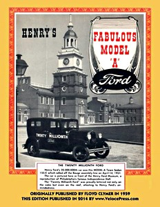 Boek: Henry's Fabulous Model A Ford