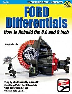 Boek: Ford Differentials - How to Rebuild the 8.8 Inch and 9 Inch