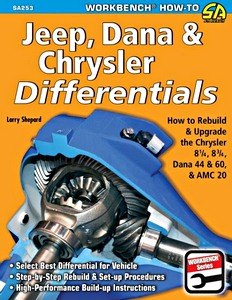 Boek: Jeep, Dana and Chrysler Differentials - How to Rebuild the Chrysler 8 1/4, 8 3/4, Dana 44 & 60 and Amc 20