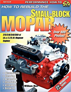 Boek: How to Rebuild the Small-Block Mopar (1964-2003)