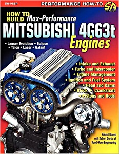 Boek: How to Build Max-Performance Mitsubishi 4g63t Engines
