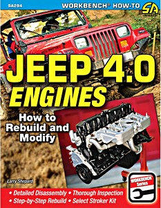 Livre : Jeep 4.0 Engines - How to Rebuild and Modify (1986-2006)