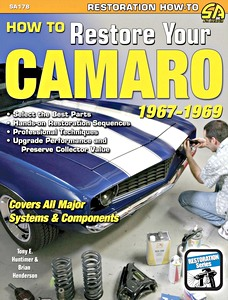 Boek: How to Restore Your Camaro 1967-1969