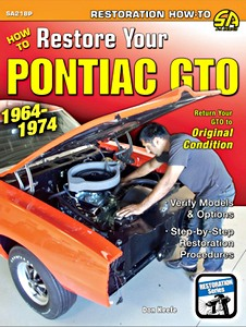 Boek: How to Restore Your Pontiac GTO (1964-1974) - Return Your GTO to Original Condition