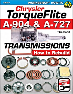 Boek: Chrysler Torqueflite A904 and A727 Transmissions : How to Rebuild