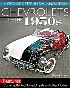 Boek: Chevrolets of the 1950s : A Decade of Technical Innovation