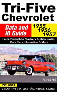 Boek: Tri-Five Chevrolet Data and ID Guide (1955-1957): Includes Bel Air, 210, 150, Nomad and More