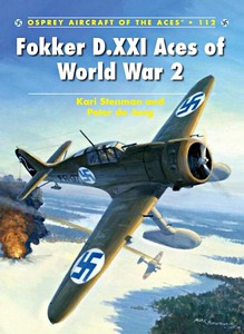 Boek : Fokker D.XXI Aces of World War 2 (Osprey)