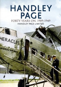 Boek: Handley Page - Forty Years On 1909-1949