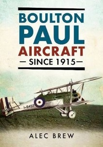 Boek: Boulton Paul Aircraft Since 1915